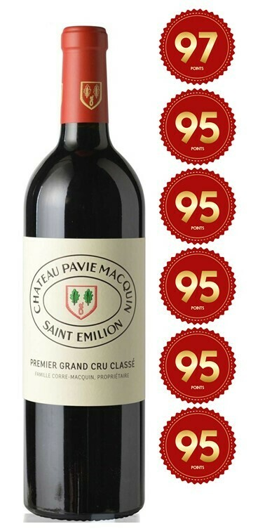 Chateau Pavie-Macquin - St Emilion 1st Grand Cru 2017 (Pre-Order - 1 week delivery time)