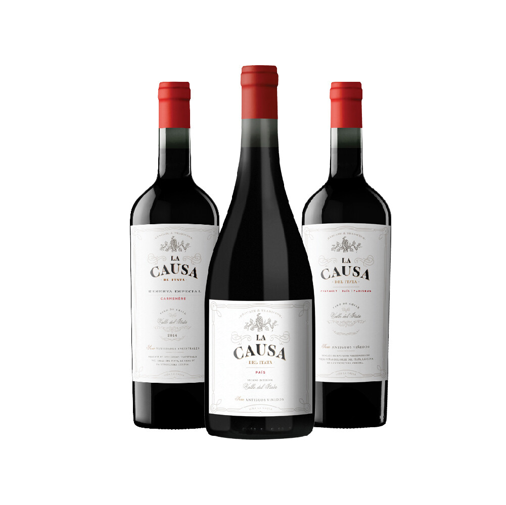 La Causa Signature 3Btls Bundle Pack