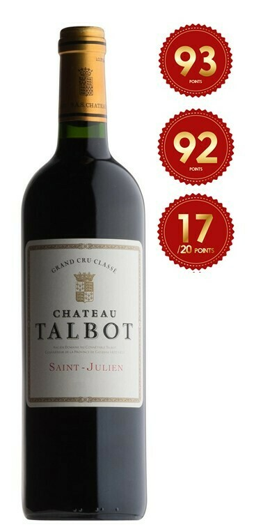 Chateau Talbot - St Julien 2017 (Pre-Order - 1 week delivery time)