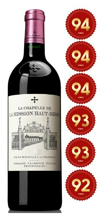 La Chapelle De La Mission Haut Brion - Pessac-Leognan 2016 (Pre-Order - 1 week delivery time)