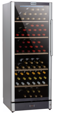 Vintec 'Allure Series' Wine Cabinet - 120 bottles - Single/Multi Temperature (AL-V150SG2E)