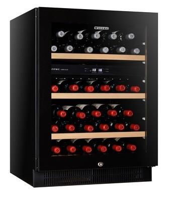 Vintec 'Noir Series' Wine Cabinet - 50 bottles - Dual Temperature (VWD050SBA-X)
