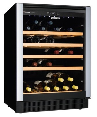 Vintec 'Allure Series' Wine Cabinet - 40 bottles - Single Temperature (AL-V40SGE)