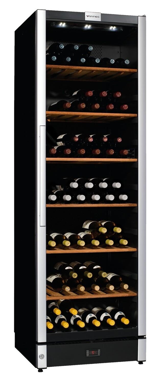 Vintec 'Allure Series' Wine Cabinet - 150 bottles - Single/Multi Temperature (AL-V190SG2E)