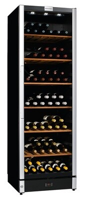 Vintec 'Allure Series' Wine Cabinet - 150 bottles - Single/Multi Temperature (AL-V190SG2E)