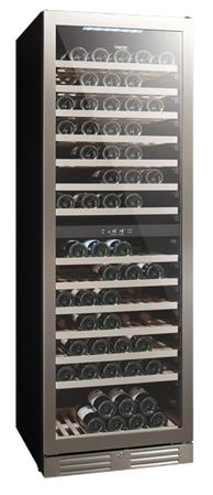 Vintec 'Seamless Series' Wine Cabinet - 138 bottles - Dual Temperature (V155SG2ES3)
