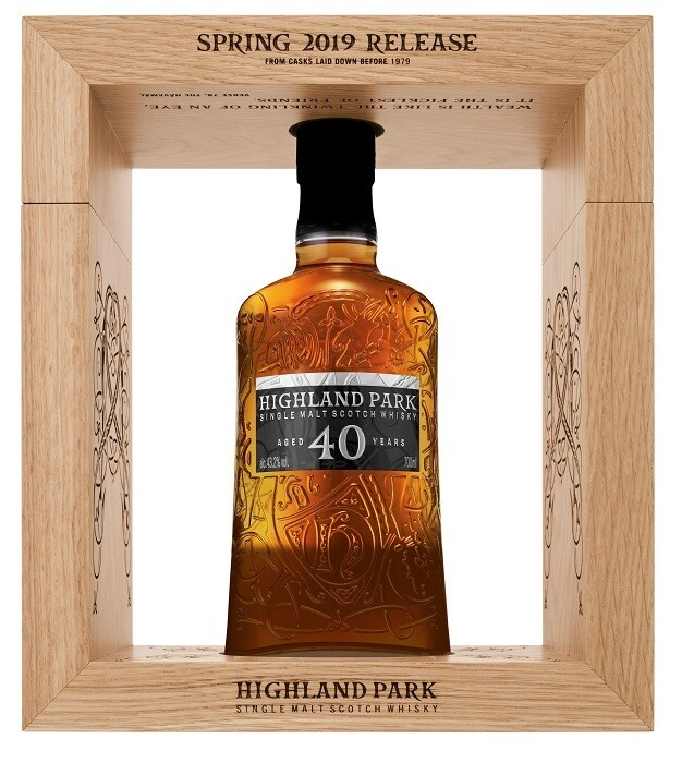 Highland Park '40 Years Old' Single Malt Scotch Whisky (2019 Release)