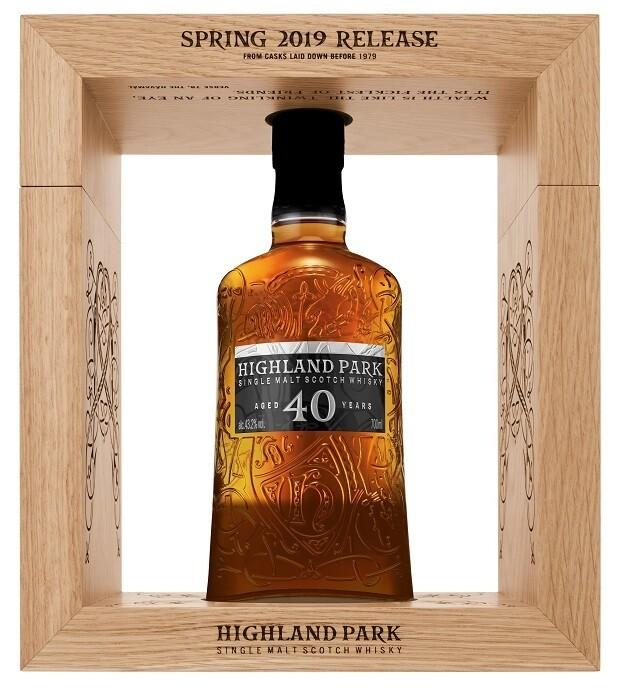 Highland Park '40 Years Old' Single Malt Scotch Whisky (2019 Release)