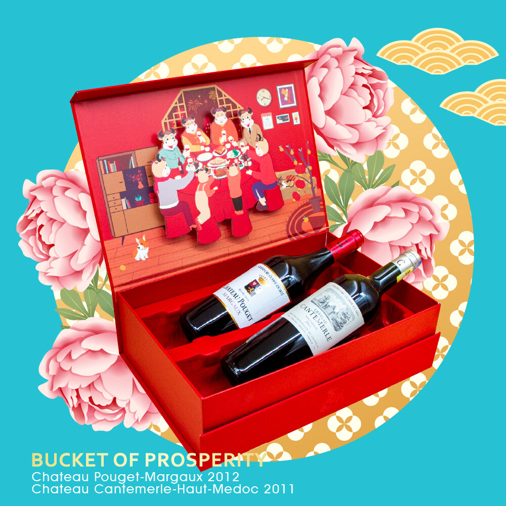 (Chateau Premium CNY Gift Pack) Bucket of Prosperity