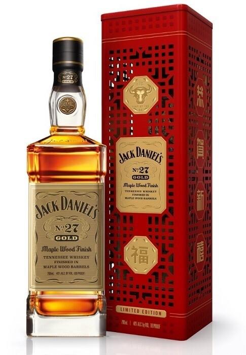 Jack Daniel's 'No27 Gold' Whiskey (Limited Edition CNY Box)