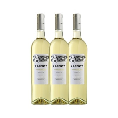 (Bundle of 3) Argento Chardonnay 2016