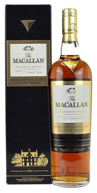 Macallan 'President's Edition' Single Malt Whisky
