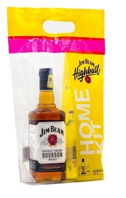 Jim Beam 'White Label' Bourbon (Highball Home Kit)