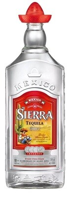 Sierra 'Silver' Tequila (1,000ml Bottle)