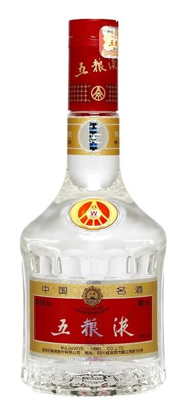 Wuliangye 'Ye Crystal' Baijiu (500ml)