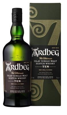 Ardbeg '10 years Old' Single Malt Scotch Whisky
