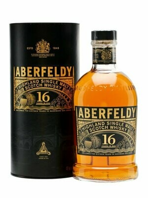 Aberfeldy '16 Years Old' Single Malt Scotch Whisky