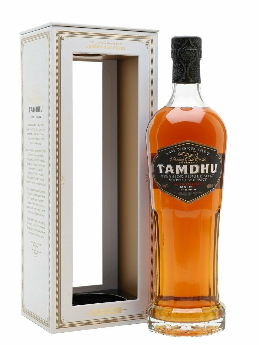 Tamdhu 'Batch Strength Batch No005' Single Malt Scotch Whisky