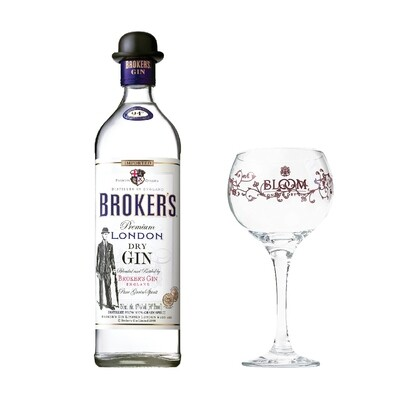 (Free Balloon Glass) Broker's London Dry Gin