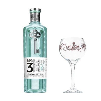 (Free Balloon Glass) No3 London Dry Gin