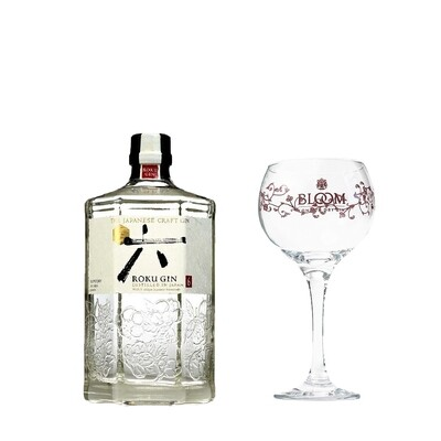 (Free Balloon Glass) Roku Japanese Gin