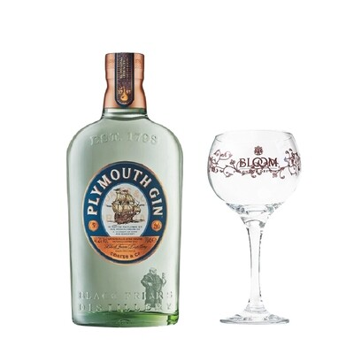 (Free Balloon Glass) Plymouth Gin