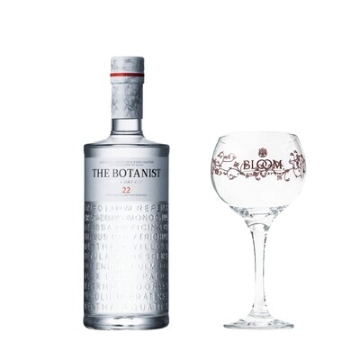 (Free Balloon Glass) The Botanist Islay Dry Gin