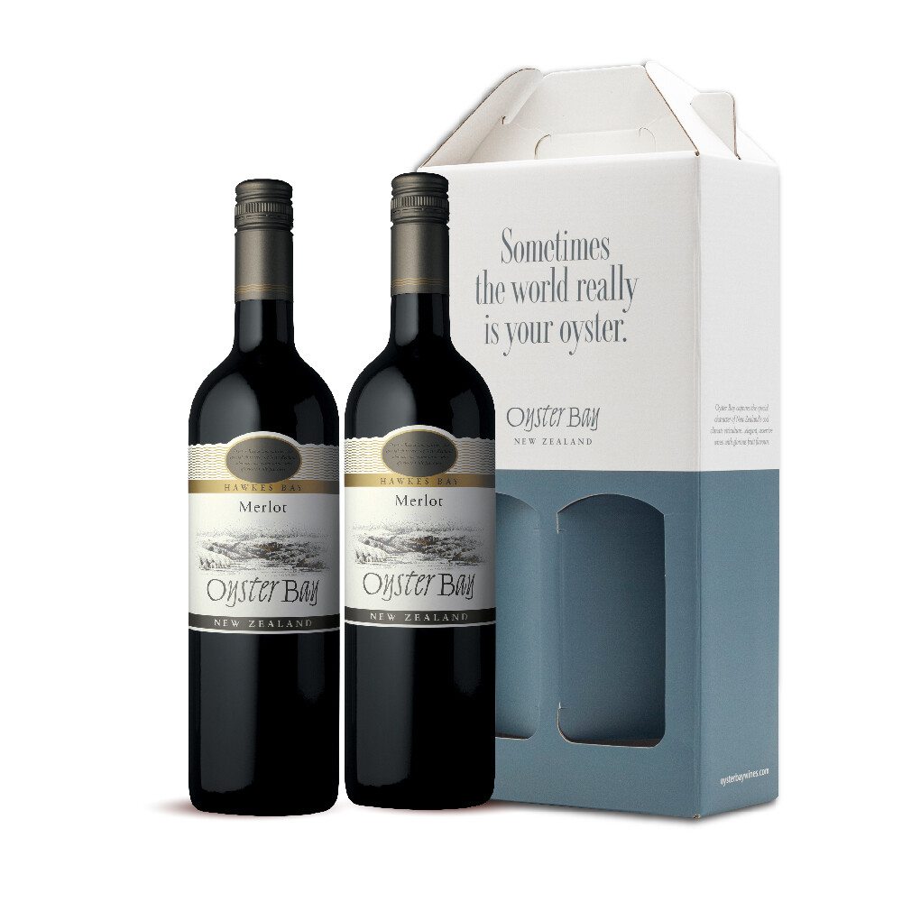 (Twin Pack) Oyster Bay Merlot