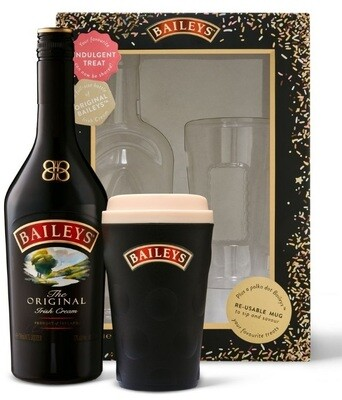 Baileys Original Irish Cream Liqueur (Limited Edition Gift Pack with Coffee Mug)