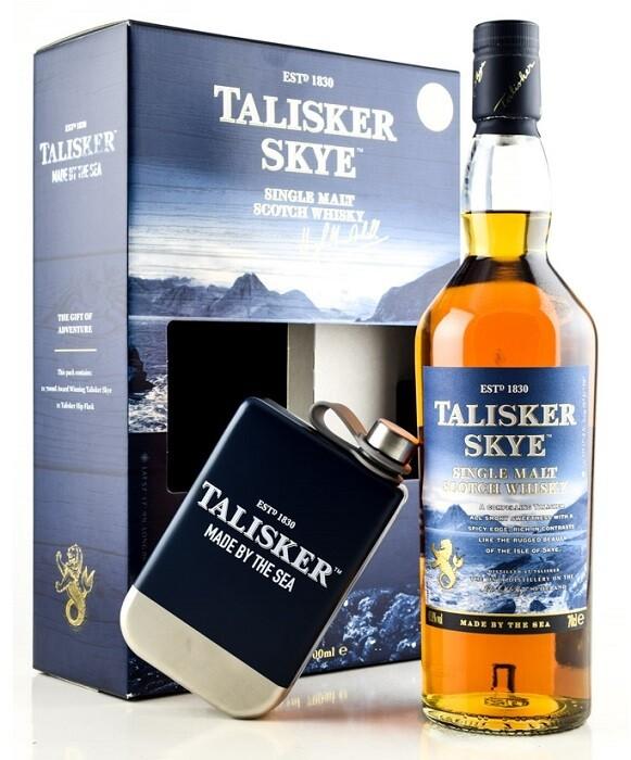 Talisker 'Skye' Single Malt Scotch Whisky (Limited Edition Gift Pack with Flask)