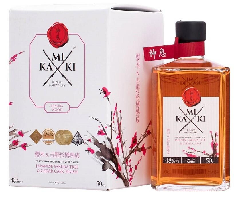 Kamiki 'Sakura Wood' Blended Whisky (500ml)