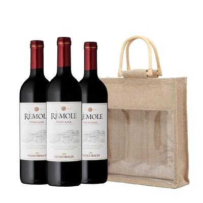 (Free Wine Jute Bag) Frescobaldi 'Remole' Rosso di Toscana