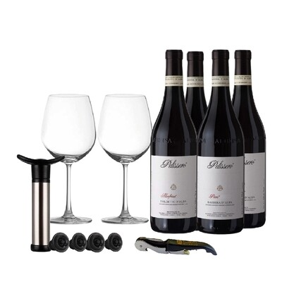 (Free Home Bar Set) Piemonte Starter Pack