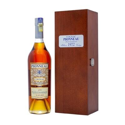 Camus 'Pionneau - Petite Champagne' Cognac Vintage 1972