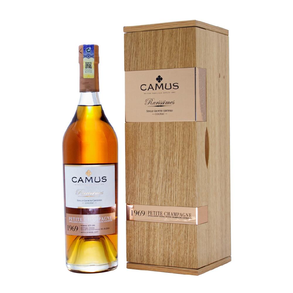 Camus 'Rarissimes - Petite Champagne' Cognac Vintage 1969