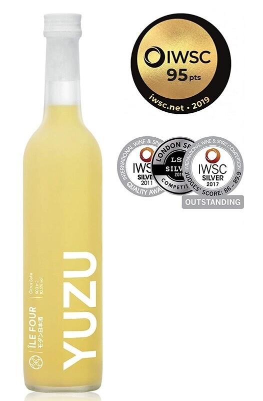 Ile Four 'Yuzu' Citrus Sake (500ml)