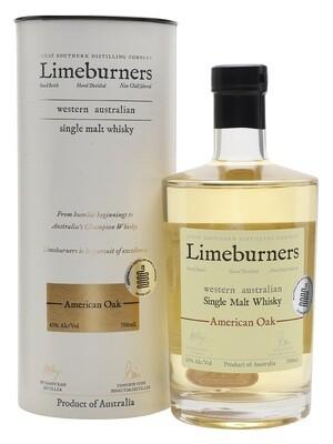 Limeburners Western Australian 'American Oak' Single Malt Whisky
