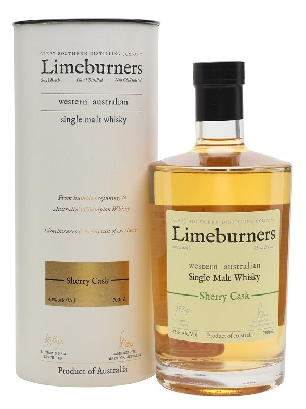 Limeburners Western Australian 'Sherry Oak' Single Malt Whisky