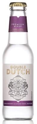 Double Dutch Cranberry & Ginger Tonic (200ml bottle)