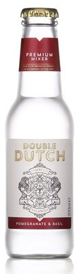 Double Dutch Pomegranate & Basil Mixer (200ml bottle)
