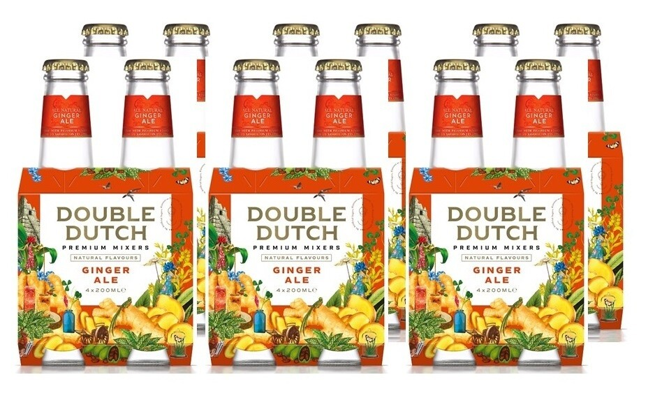 Double Dutch Ginger Ale (24 x 200ml bottle)