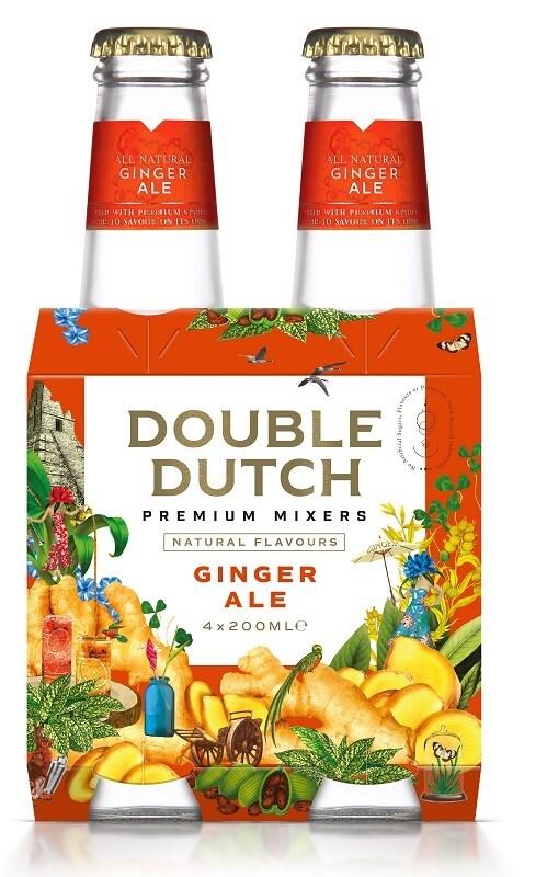 Double Dutch Ginger Ale (4 x 200ml bottle)