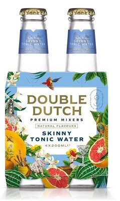 Double Dutch Skinny Tonic (4 x 200ml bottle)