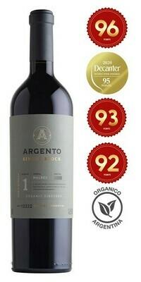 Argento 'Single Block 1' Organic Malbec