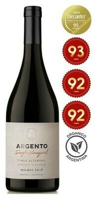 Argento 'Finca Altamira Single Vineyard' Organic Malbec