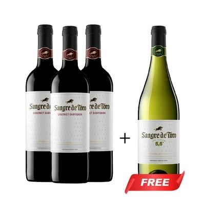 (Buy 3 Free 1) Sangre de Toro Cabernet Sauvignon