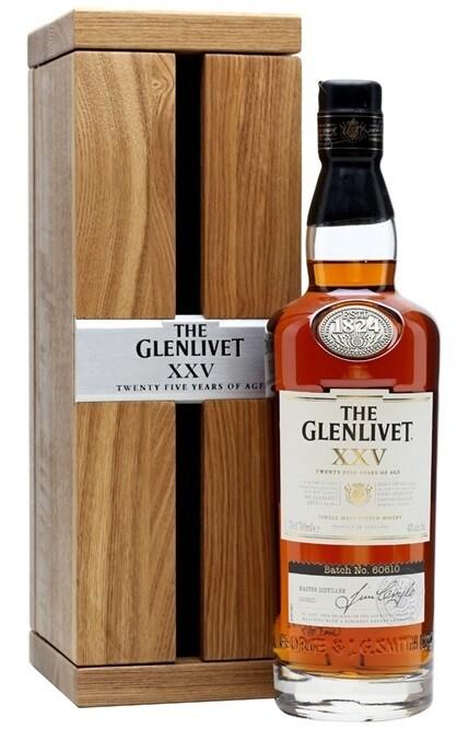 The Glenlivet '25 Years Old' Single Malt Scotch Whisky