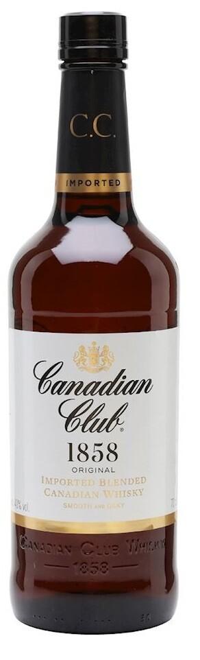 Canadian Club '1858 Original' Canadian Whisky