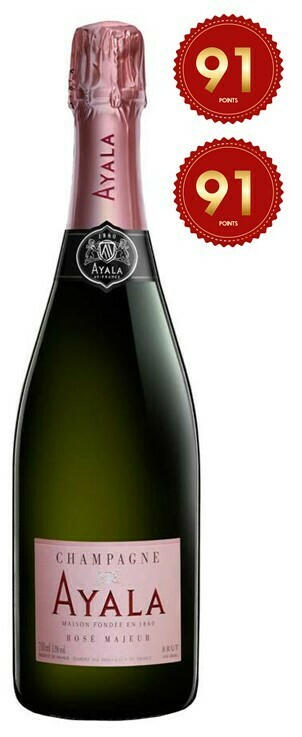 Ayala 'Rose Majeur' Champagne