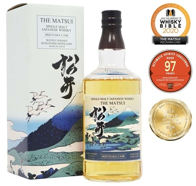 The Matsui 'Mizunara Cask' Single Malt Japanese Whisky
